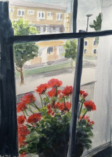 VIEW FROM A WINDOW, Maggie Pettigrew